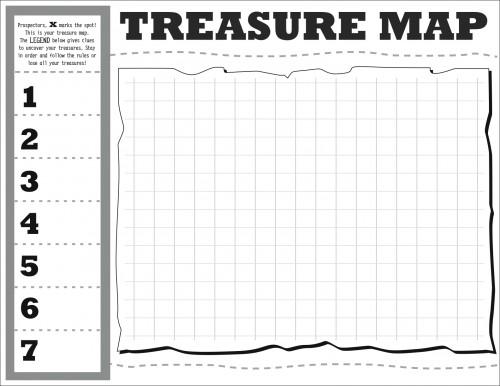 Treasure Map DIY