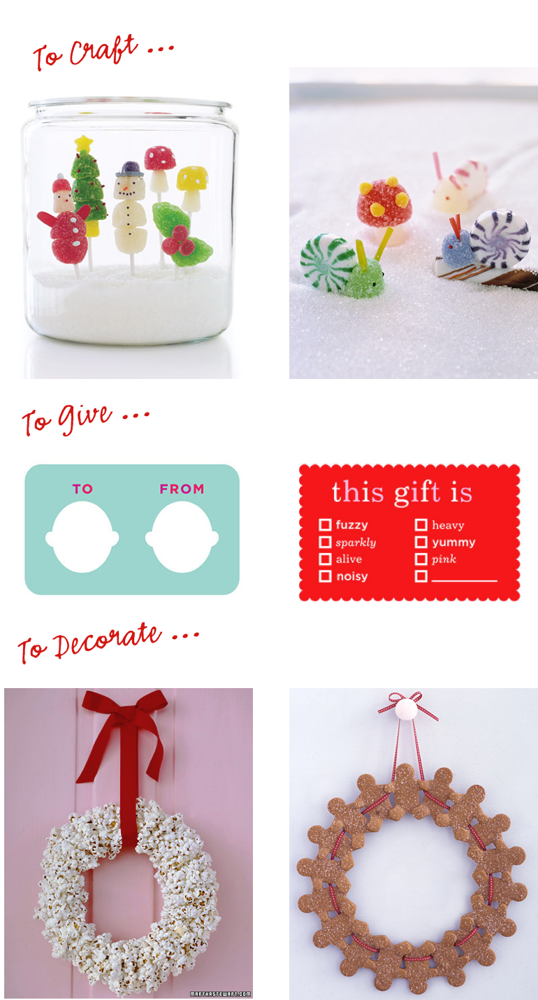 Martha stewart holiday crafts martha holiday crafts hip for Martha stewart xmas crafts